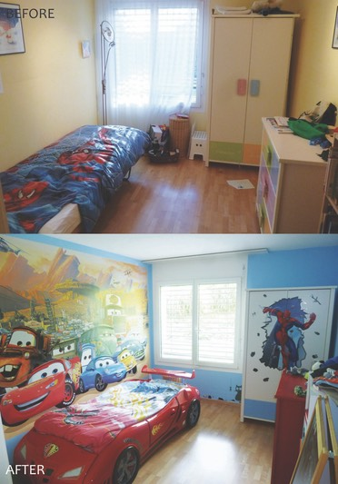 lili giacobino, kids bedroom
