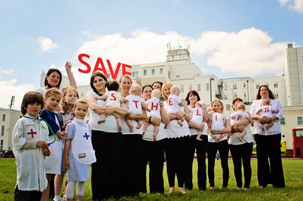 Local Mums Online hospital protest