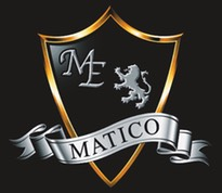 MATICO Logo2 on backgrounds