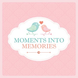 Moments Into Memories Logo