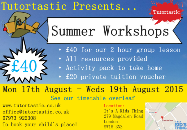 Summer workshop front