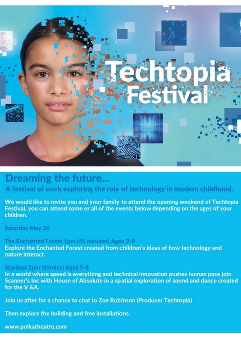 Techtopia Blogger Invitation